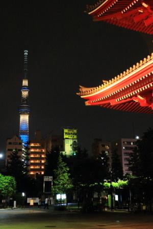 東京スカイツリーを見上げた!