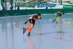 スピードスケート競技会より
